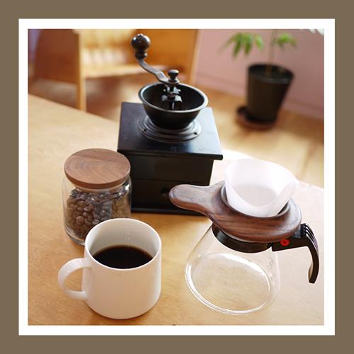 コーヒードリッパー 木製