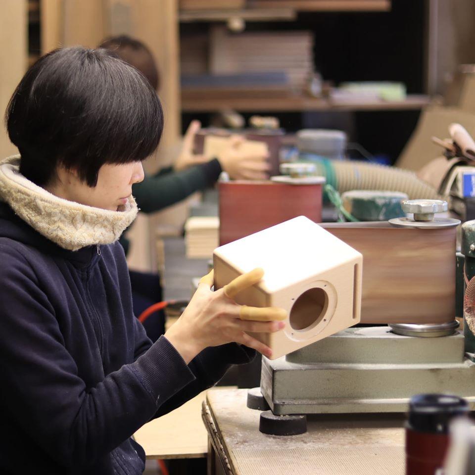 飛鳥工房 木製スピーカー