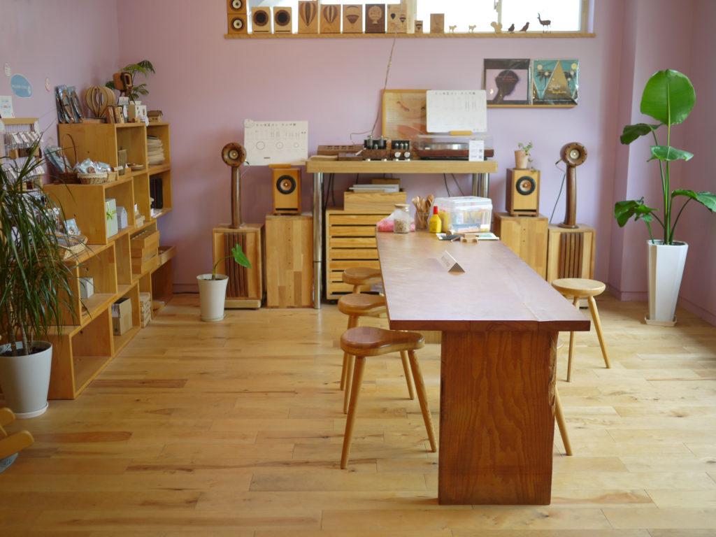 ワークショップ ブース 飛鳥工房 木工体験